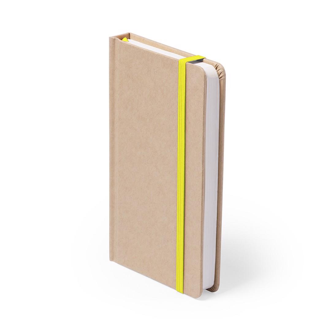 Bloco de Notas Raimok - Amarelo