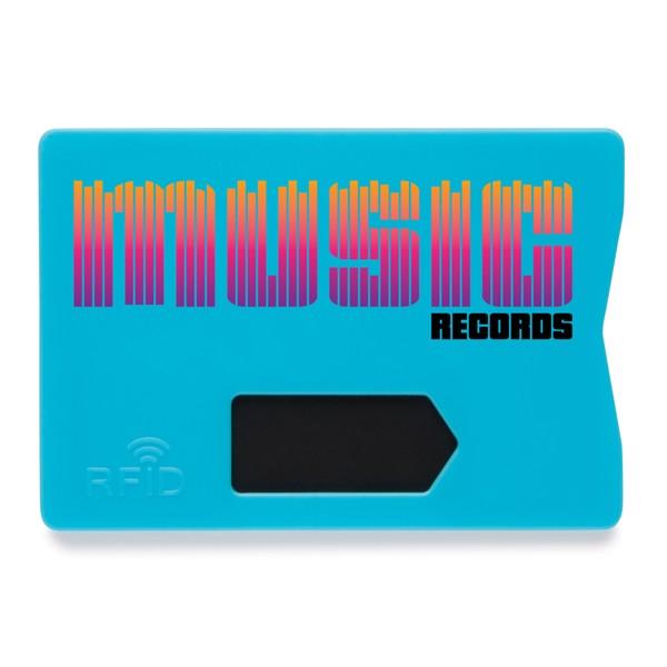 Pouzdro na kartu s RFID ochranou - Modrá