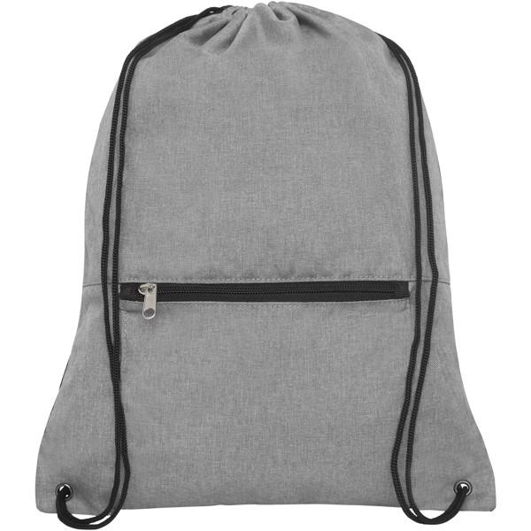 Hoss skládací šňůrkový batoh - Heather medium grey