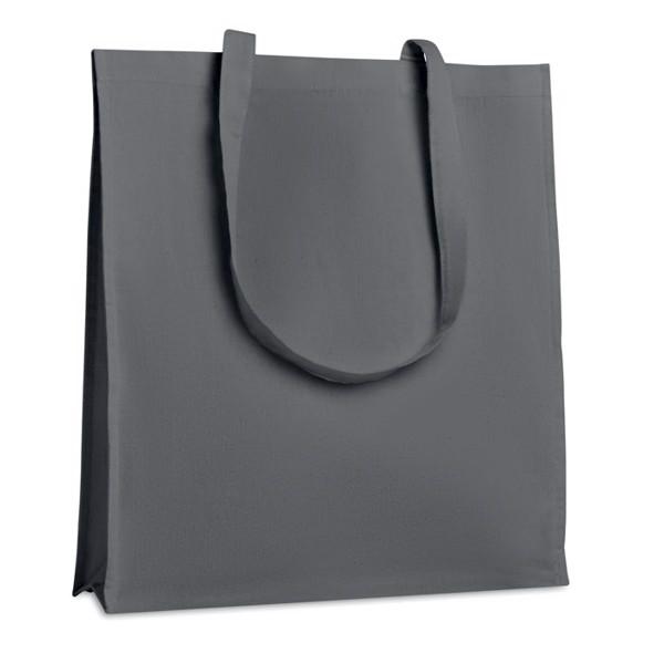 Bawełnian torba na zakupy Trollhattan - szary