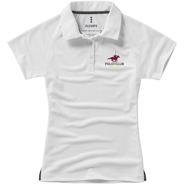 Ottawa short sleeve women's cool fit polo - White / XS