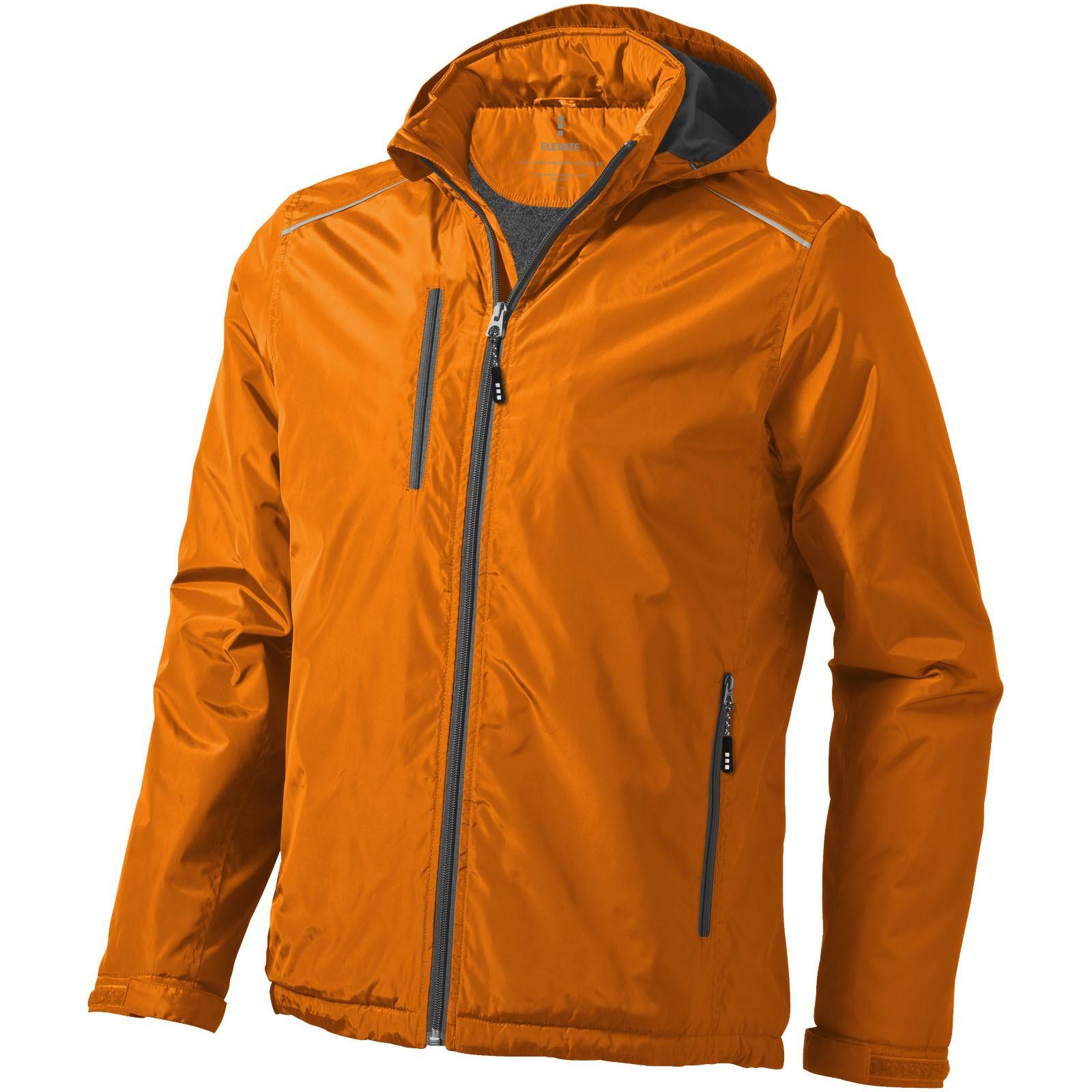 Smithers fleece lined jacket - Orange / XXL