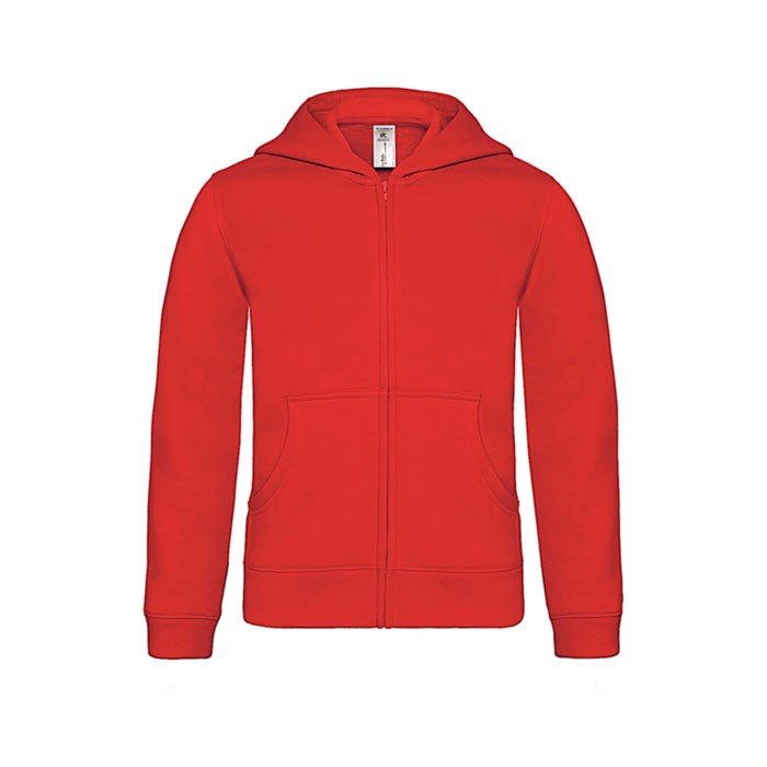 Kinder Kapuzen Sweatshirt - Red / L
