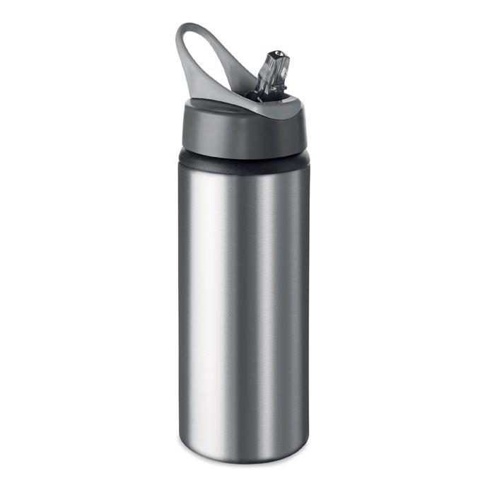 Butelka z aluminium 600 ml Atlanta - srebrny mat