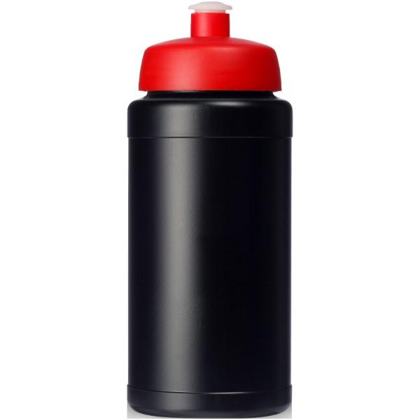 Baseline® Plus 500 ml lahev se sportovním víčkem - Černá / Červená s efektem námrazy