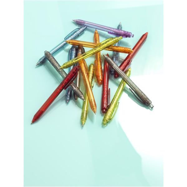 Recyklované kuličkové pero Vancouver - Transparentní Fialová