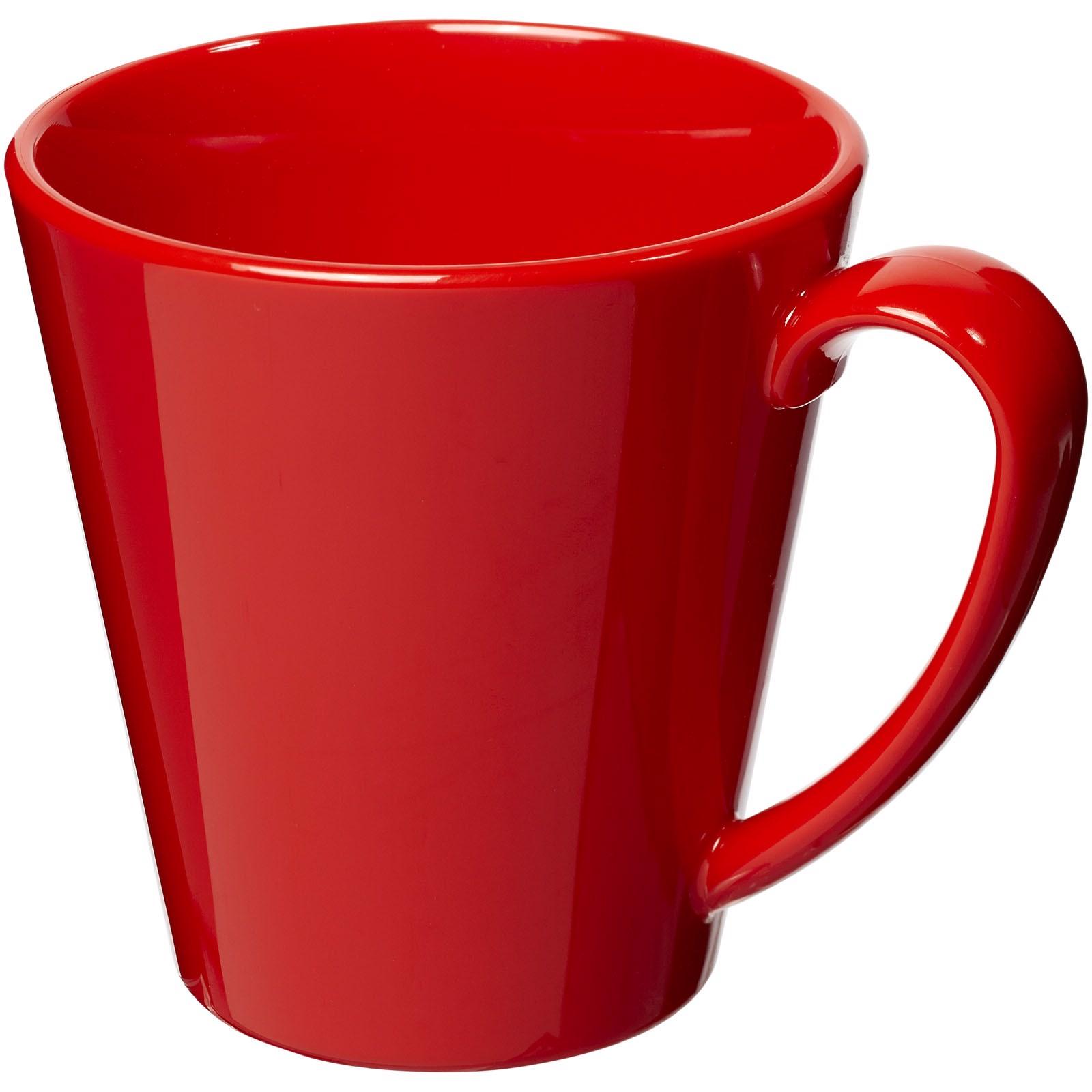 Supreme 350 ml Kunststoffbecher - Rot