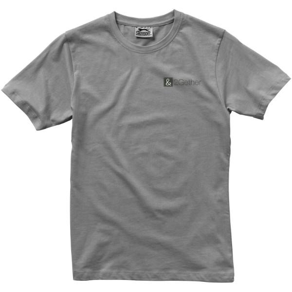 Dámské triko Ace s krátkým rukávem - Šedá / S