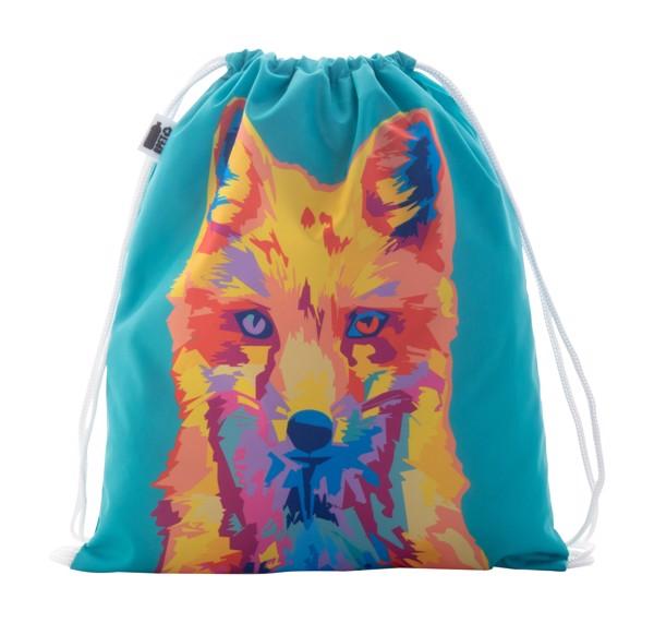 Custom Drawstring Bag For Kids CreaDraw Kids RPET - White
