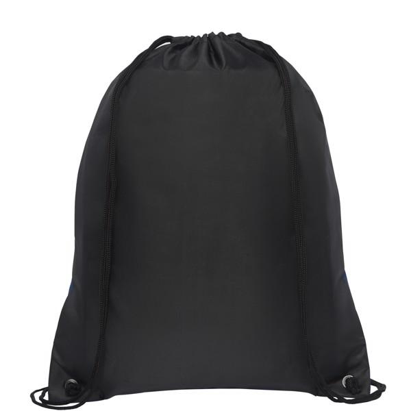 Hoss skládací šňůrkový batoh - Heather navy