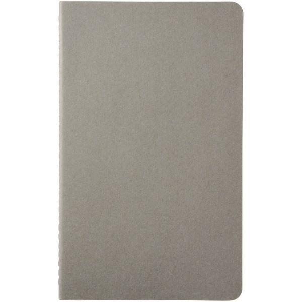 Cahier Journal L - plain - Pebble grey