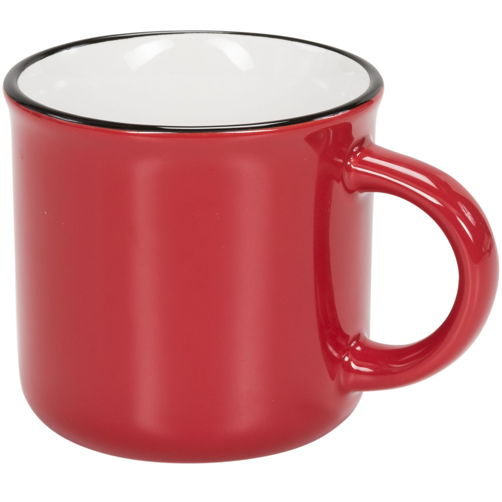Lakeview 310 ml ceramic mug - Red