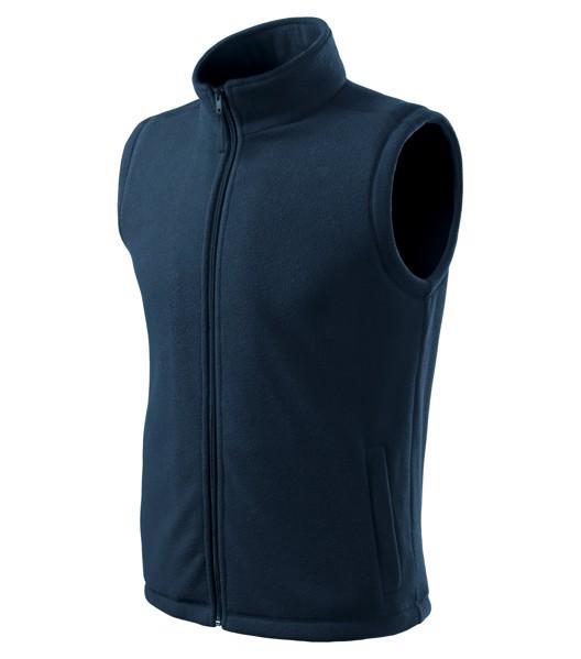 Fleece Vest unisex Malfini Next - Navy Blue / XS