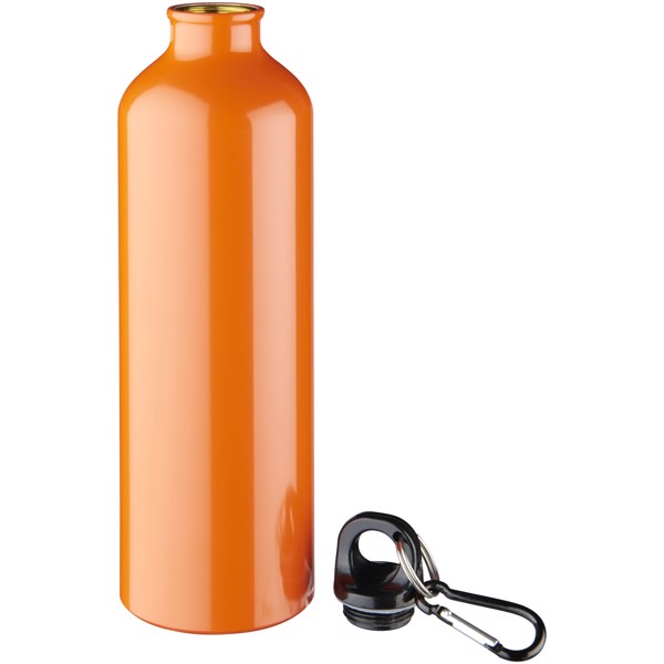 Pacific 770 ml Trinkflasche mit Karabiner - Orange