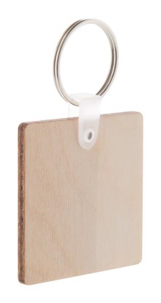 Přívěšek Na Klíče Woody C - Přírodní