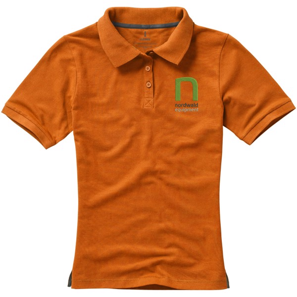 Calgary short sleeve women's polo - Orange / XXL