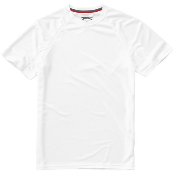 Serve short sleeve men's cool fit t-shirt - White / M