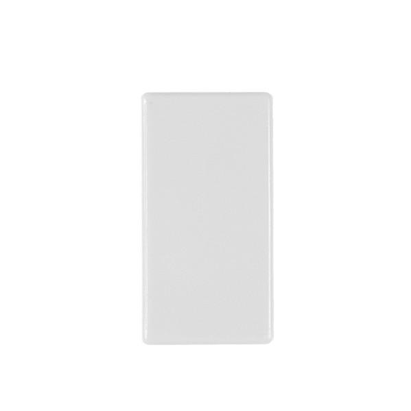 """Magnet """"Rechteck Mini"""" - Weiß"""