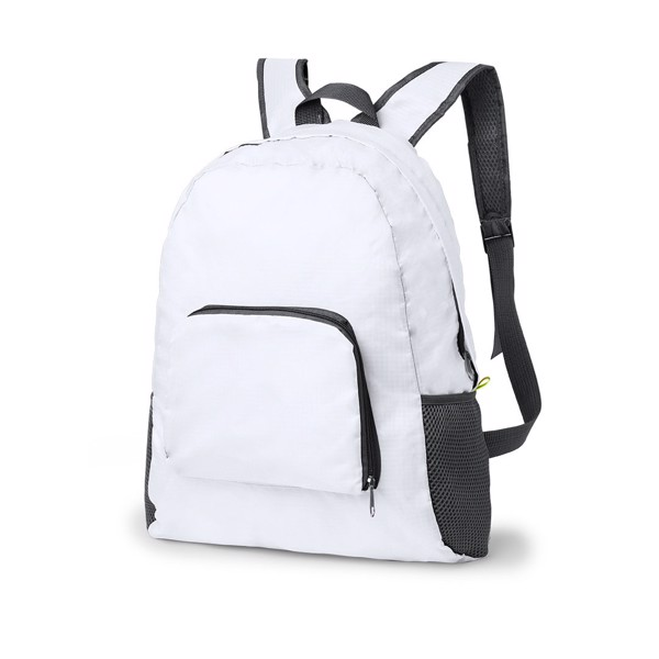 Foldable Backpack Mendy - White