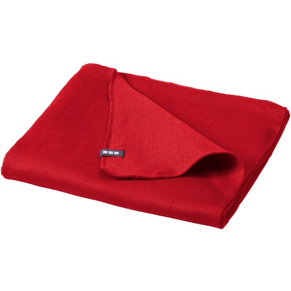 Mark scarf - Red