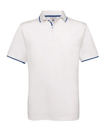 Polo Safran Sport - White / Royal Blue / L