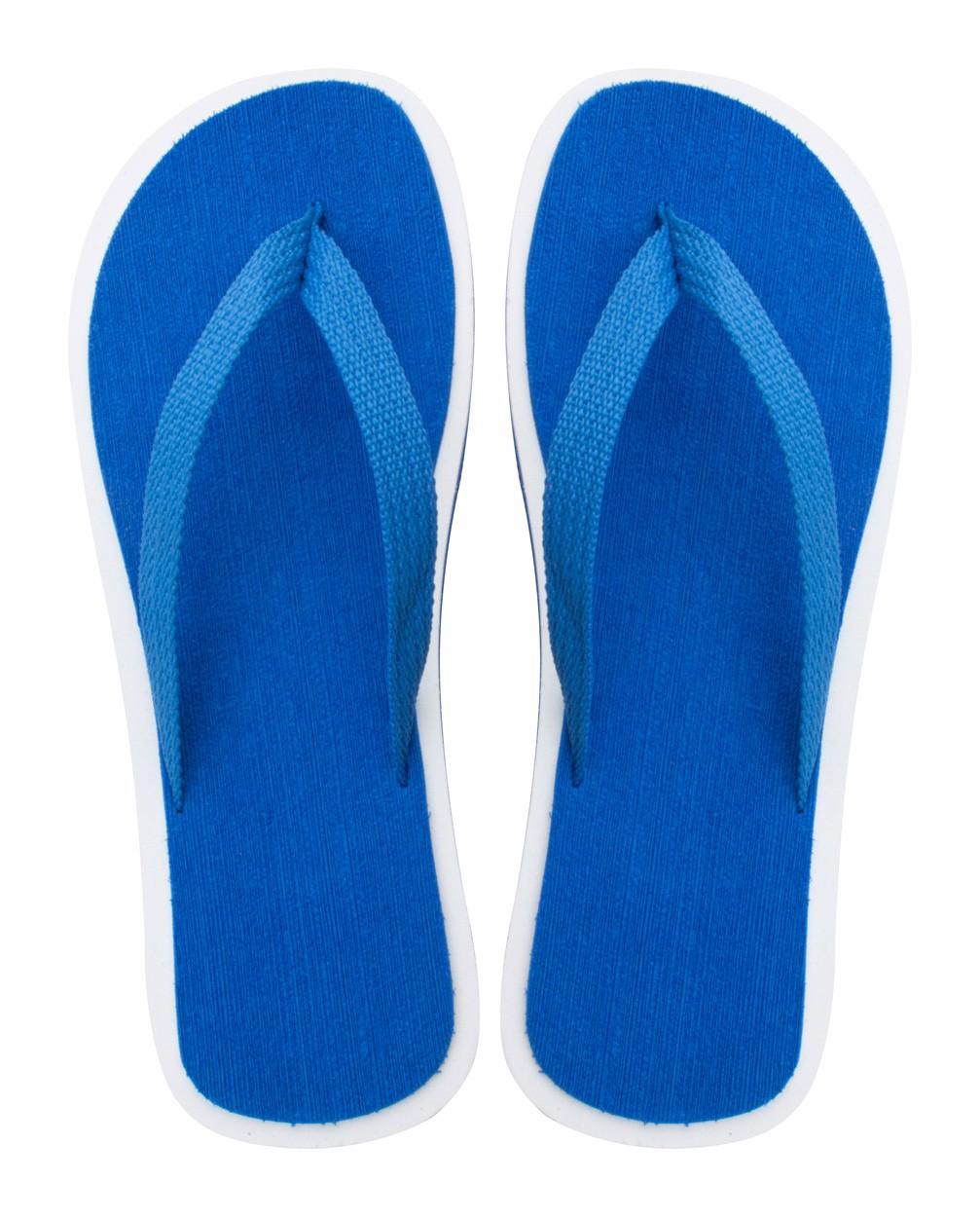 Plážové Žabky Cayman - Modrá / Bílá / F