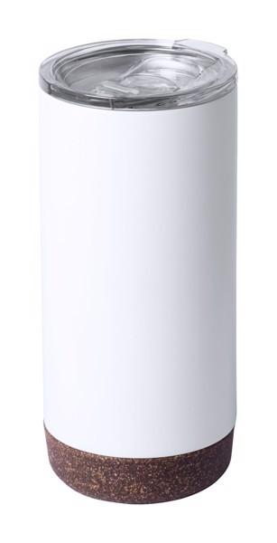 Termo Hrnek Shifen - Bílá / Přírodní