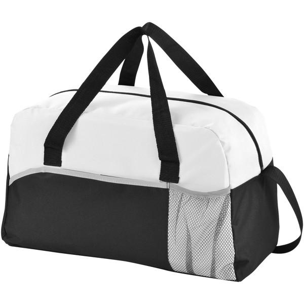 Energy duffel bag - Solid Black / White