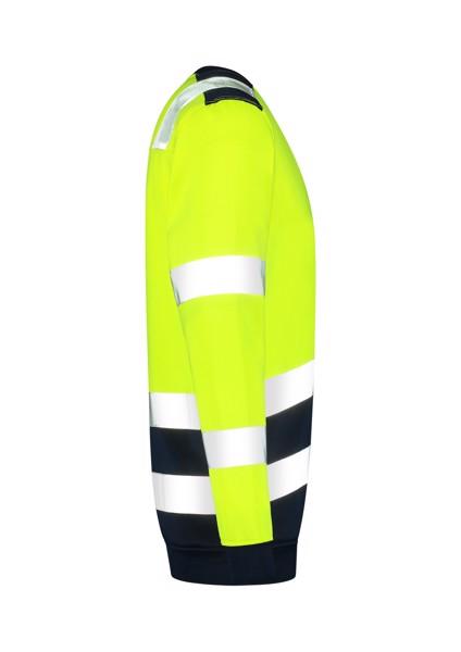 Mikina unisex Tricorp Sweater High Vis Bicolor - Fluorescenční Žlutá / 2XL