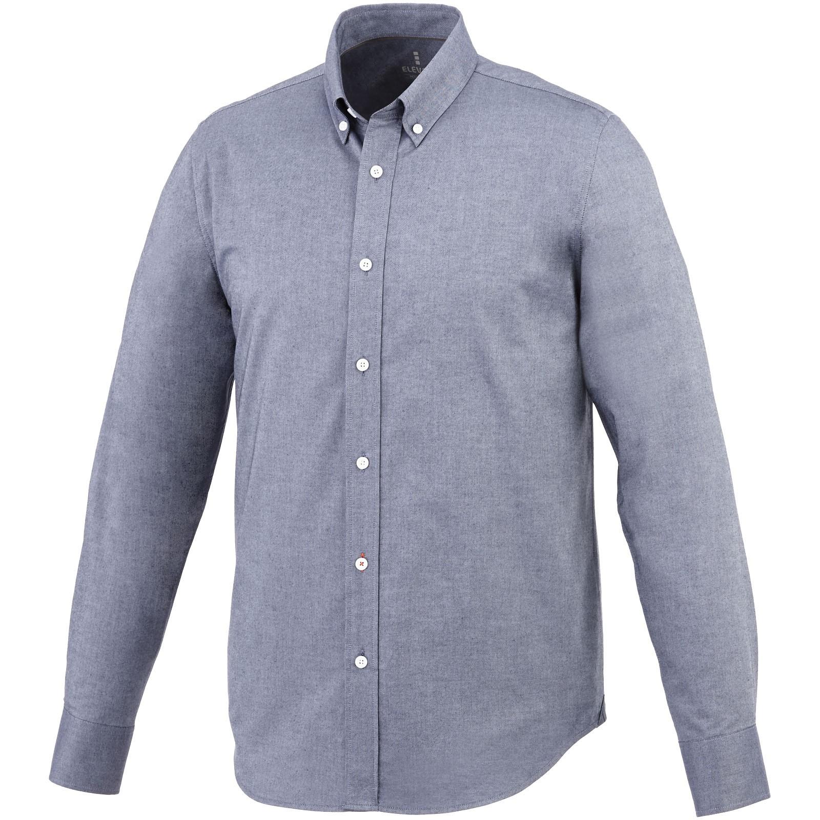 Vaillant košile s dlouhým rukávem - Oxford navy / XS