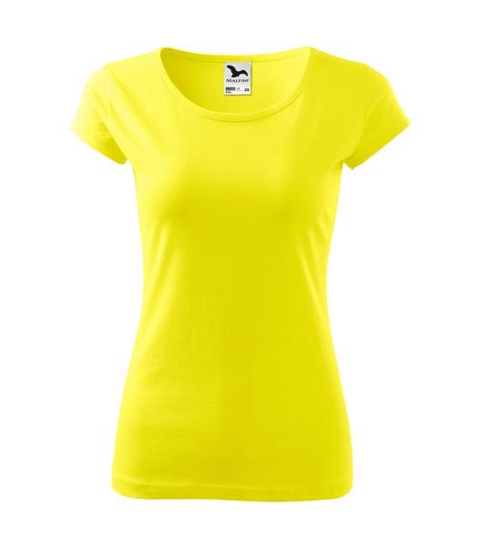 T-shirt women's Malfini Pure - Lemon / S