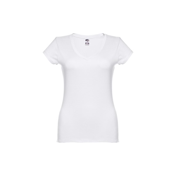 THC ATHENS WOMEN WH. Dámské tričko - Bílá / M