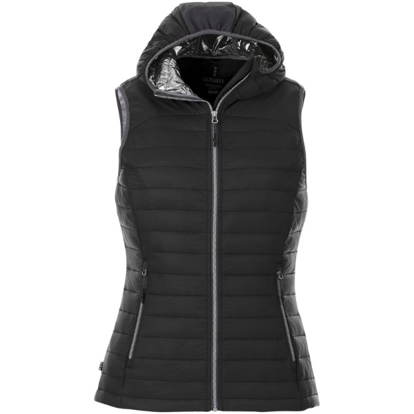 Junction women's insulated bodywarmer - Solid Black / XS