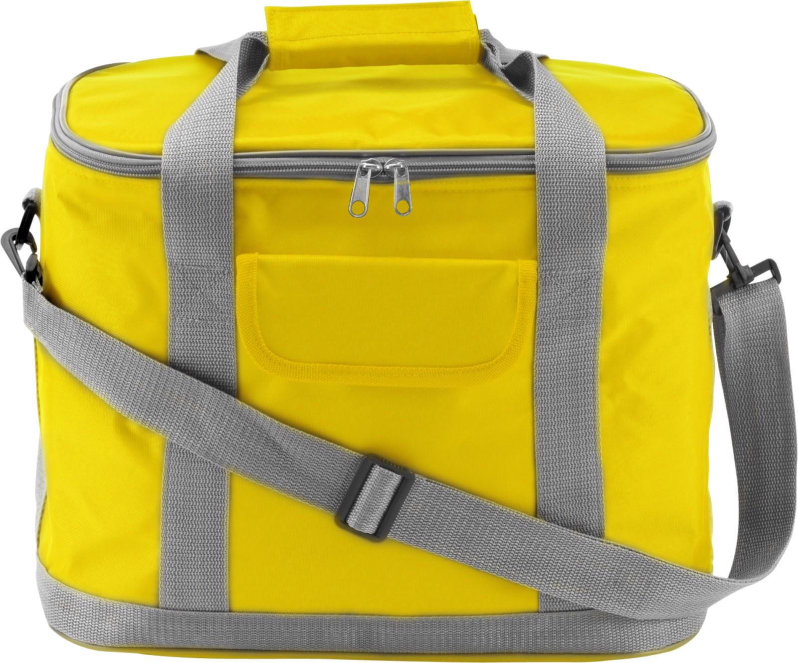 Polyester (420D) cooler bag - Yellow