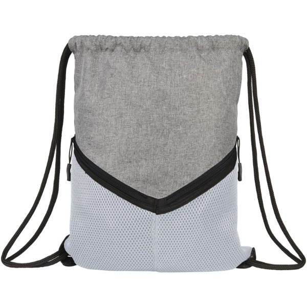Voyager drawstring backpack - White / Grey