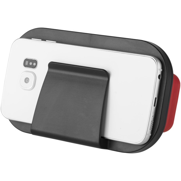 Sil-val foldable silicone virtual reality glasses - Red