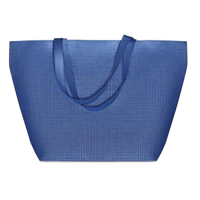 2 tone non woven shopping bag Duo Bag - Royal Blue