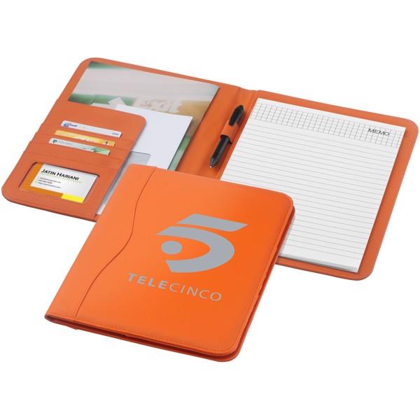 Ebony A4 portfolio - Orange