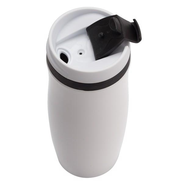 Kubek izotermiczny Viki 390 ml - Czarny