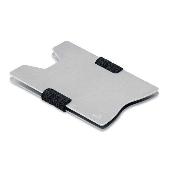Aluminium RFID card holder Secur - Silver