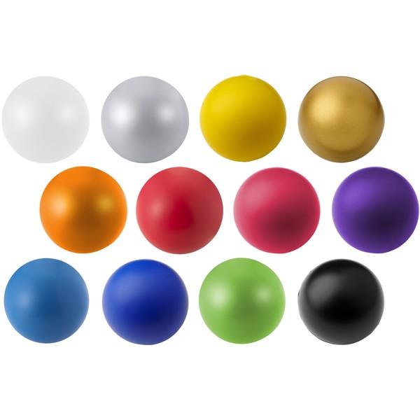 Antistresový míč Cool - Stříbrný