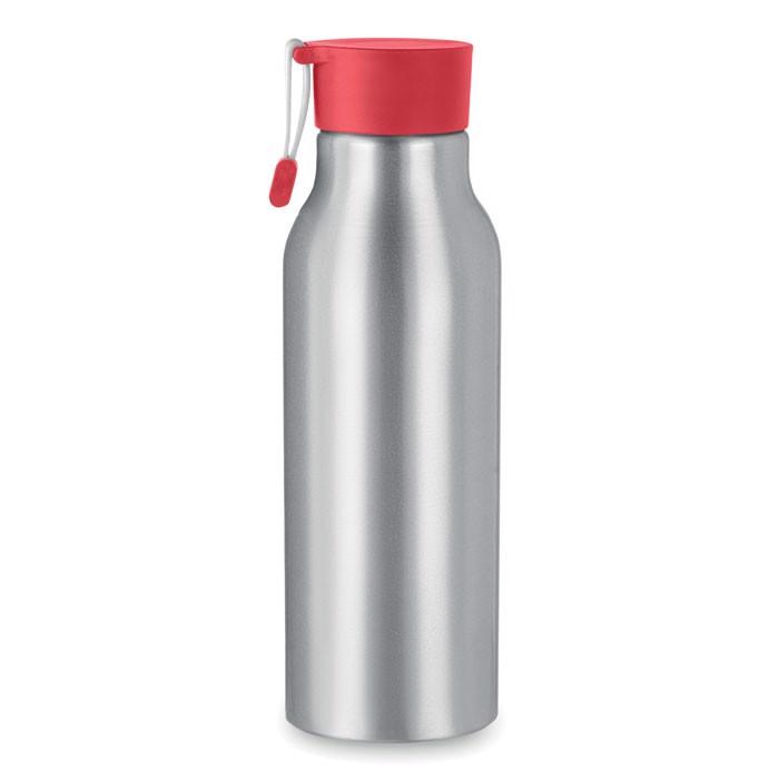 Aluminium 500 ml bottle Madison - Red