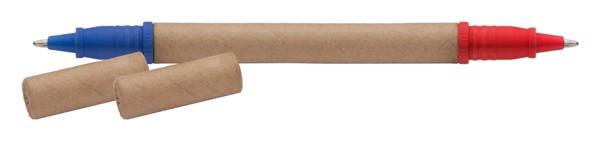 Kuličkové Pero Z Recyklovaného Papíru Lippo - Přírodní