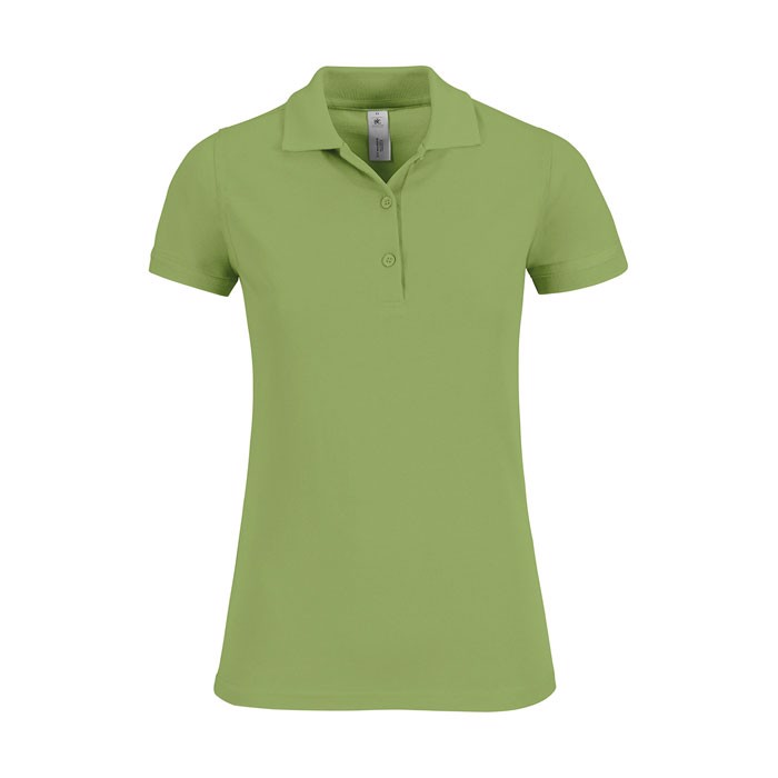 Ladies Polo Shirt 180 g/m2 Safran Timeless Women - Pistachio / XL
