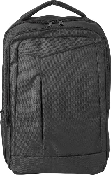 Polyester (1680D) backpack - Black