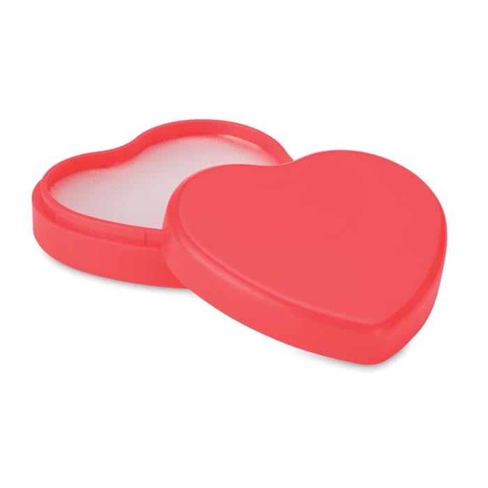 Lippenbalsam Herz Coeur - rot