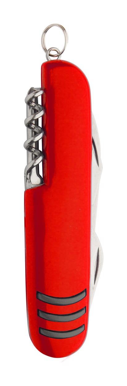 Multifunkční Kapesní Nůž Shakon - Červená