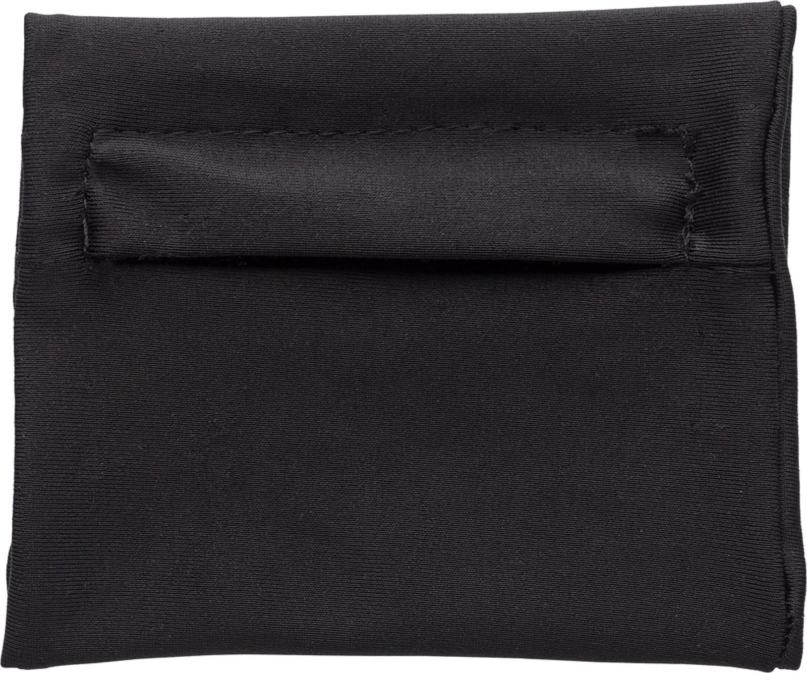 Polyester (200 gr/m²) wrist wallet - Black