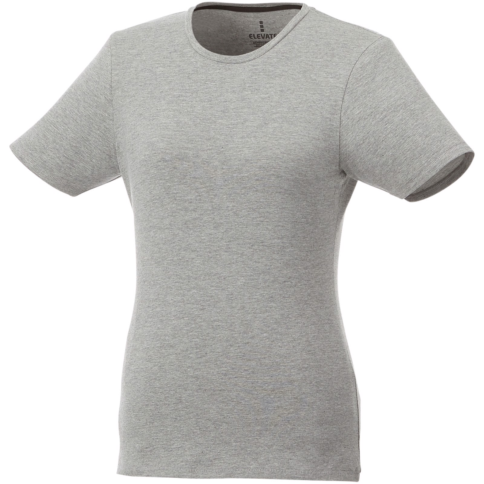 Balfour short sleeve women's GOTS organic t-shirt - Grey melange / XL