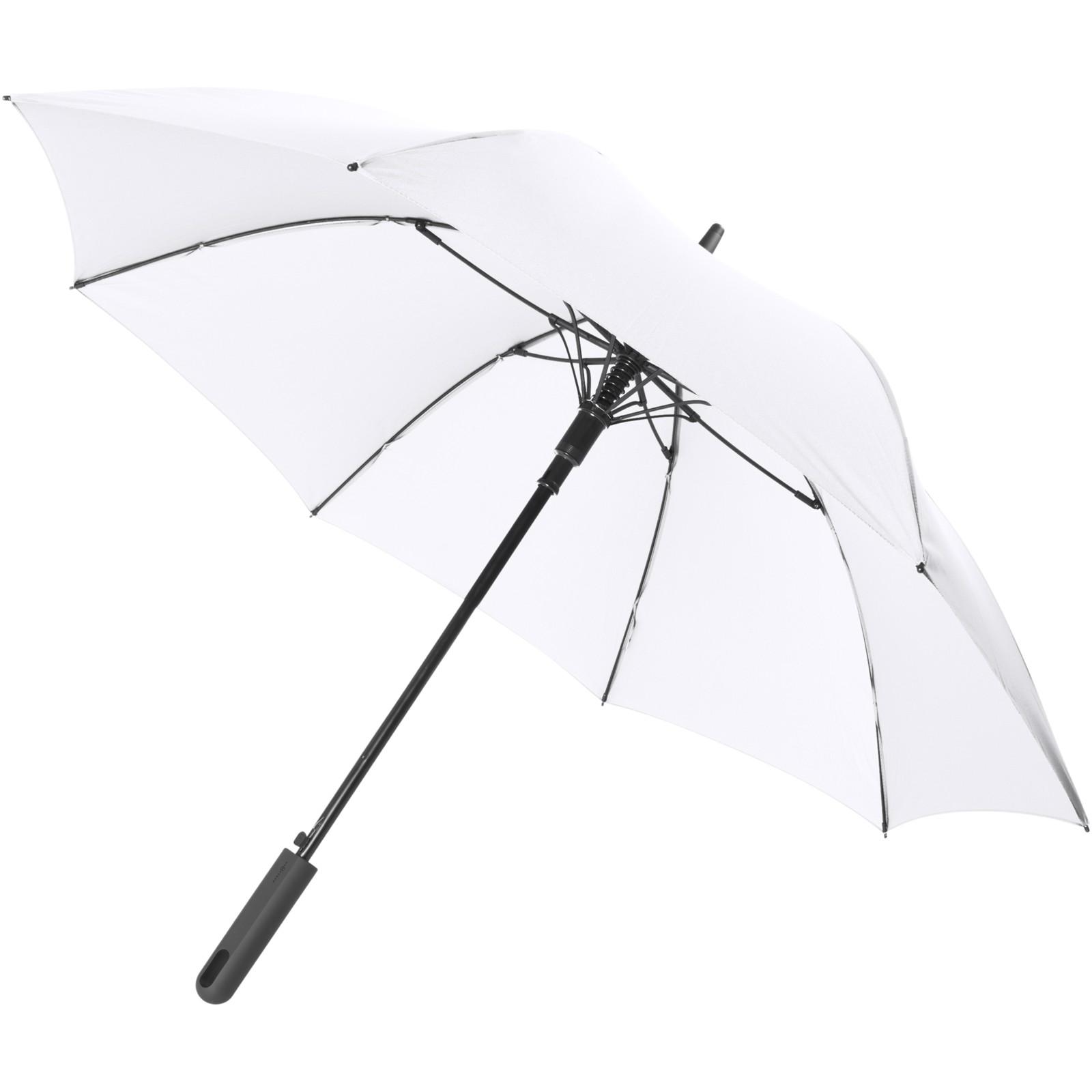 "Noon 23"" auto open windproof umbrella - White"